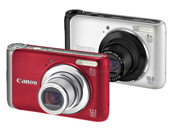 Canon presenta la PowerShot A3000 IS e la PowerShot A3100 IS