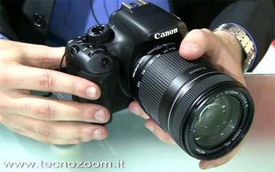 Canon EOS 550D, la Reflex entry level di qualità