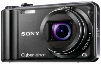 Sony Cyber-shot DSC-HX5V, superzoom con GPS integrato