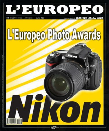 L'Europeo Photo Awards, tre reflex Nikon in palio!