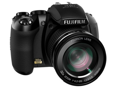Fujifilm FinePix HS10, con superzoom 30X