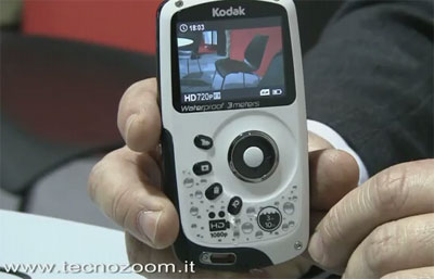 Kodak Playsport ZX3