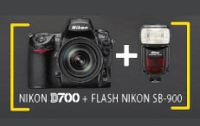 Nikon D700 con Flash SB-900 Gratis