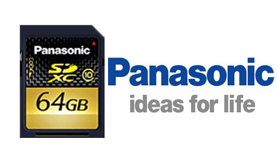 Panasonic introduce le schede di memoria SDXC